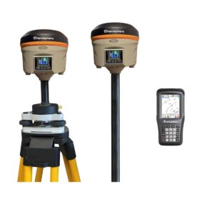 Bench Mark US - Surveying equipment - Hemisphere S321+ RTK GNSS Base & Rover with Hemisphere CW400