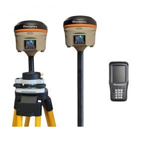 Bench Mark US - GNSS receiver - Hemisphere S321+ Base & Rover RTK GNSS Kit
