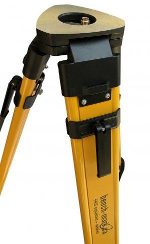Bench Mark US - Land surveying equipment - wood tripod legs