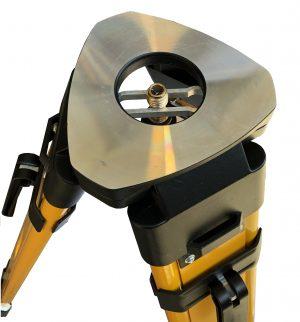 Bench Mark US - Land surveying equipment - wood tripod top