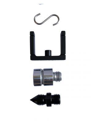 Bench Mark US - Surveying equipment - mini Prism Set accessories