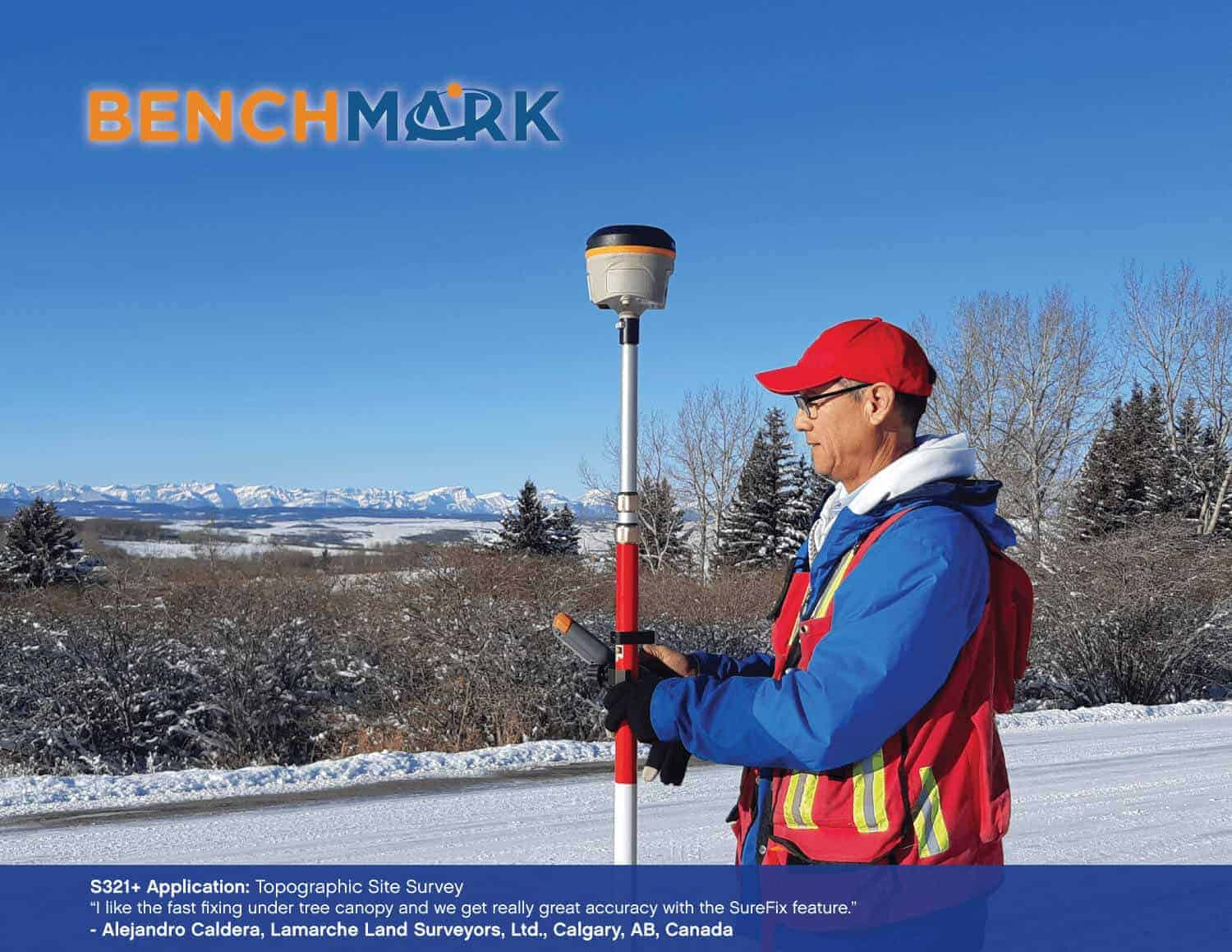 Bench Mark US - Surveying equipment - topographic site survey