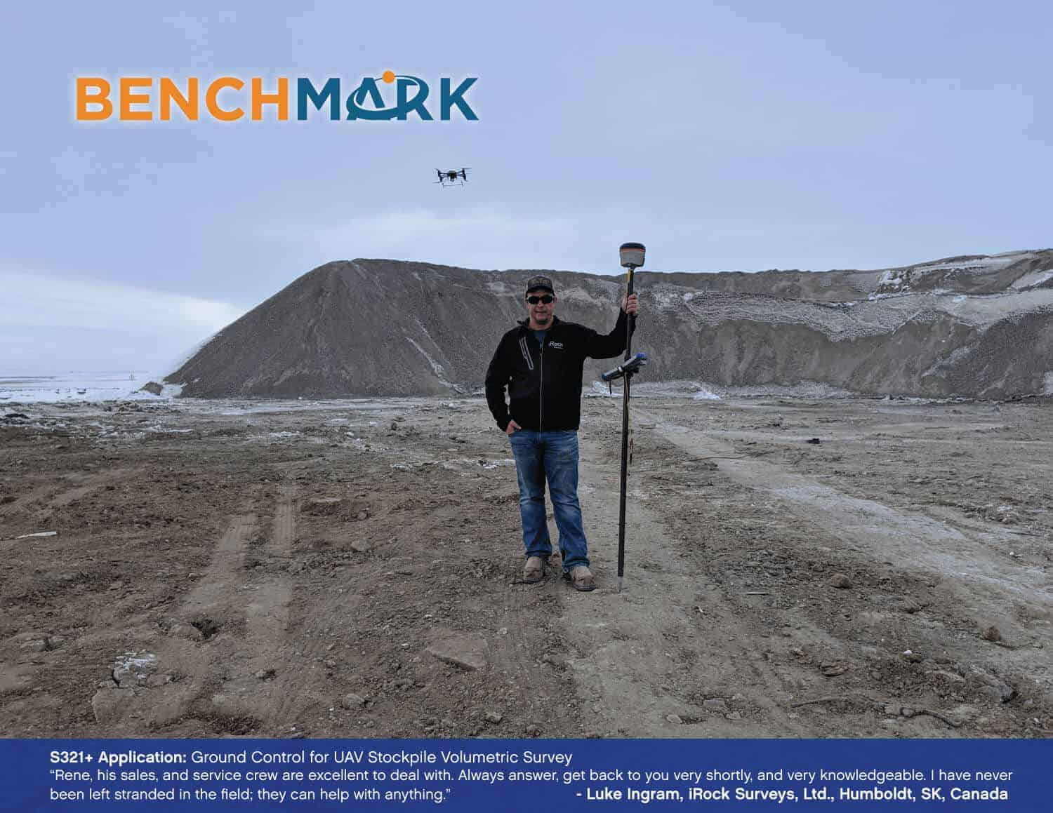 Bench Mark US - Land surveying equipment - ground control